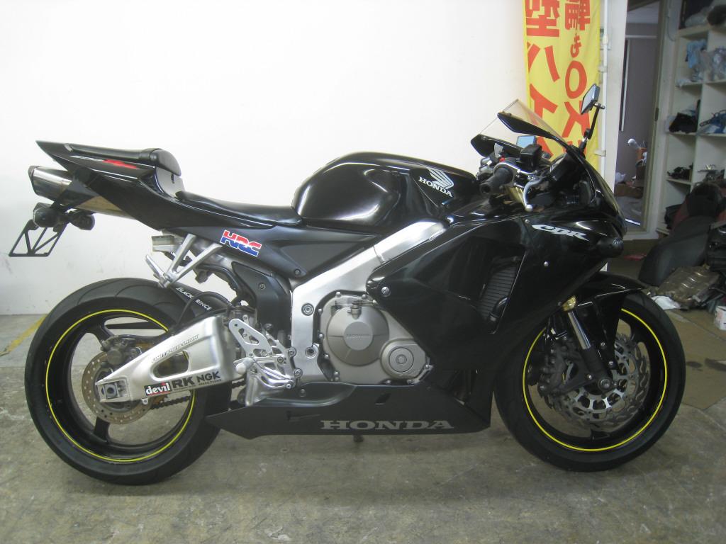 honda cbr 600rr на японских аукцыонах